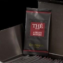Чай Dammann 4 червени плода - 24 бр. сашета в кутия