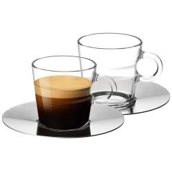 Nespresso чаши Glass Lungo 2 бр