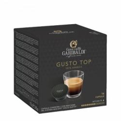 """Кафе на капсули Garibaldi """"Gusto Top"""" 16 бр."""