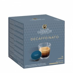 "Кафе на капсули Garibaldi ""Decaffeinato""  16 бр."