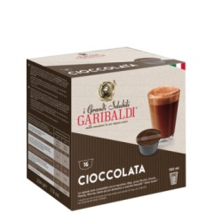 "Кафе на капусли Garibaldi ""Chocolate"" 16 бр."